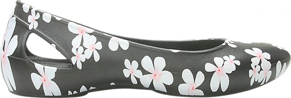 Crocs™ Laura Seasonal Flat Women's Tropical Floral/Black 36,5