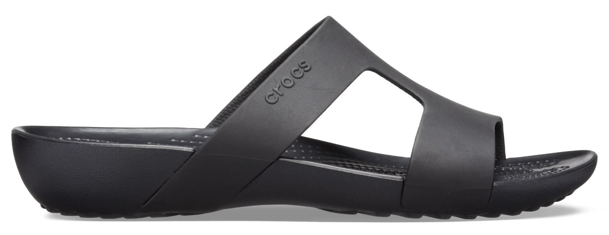 Crocs™ Serena Slide Women's Black/Black 36,5