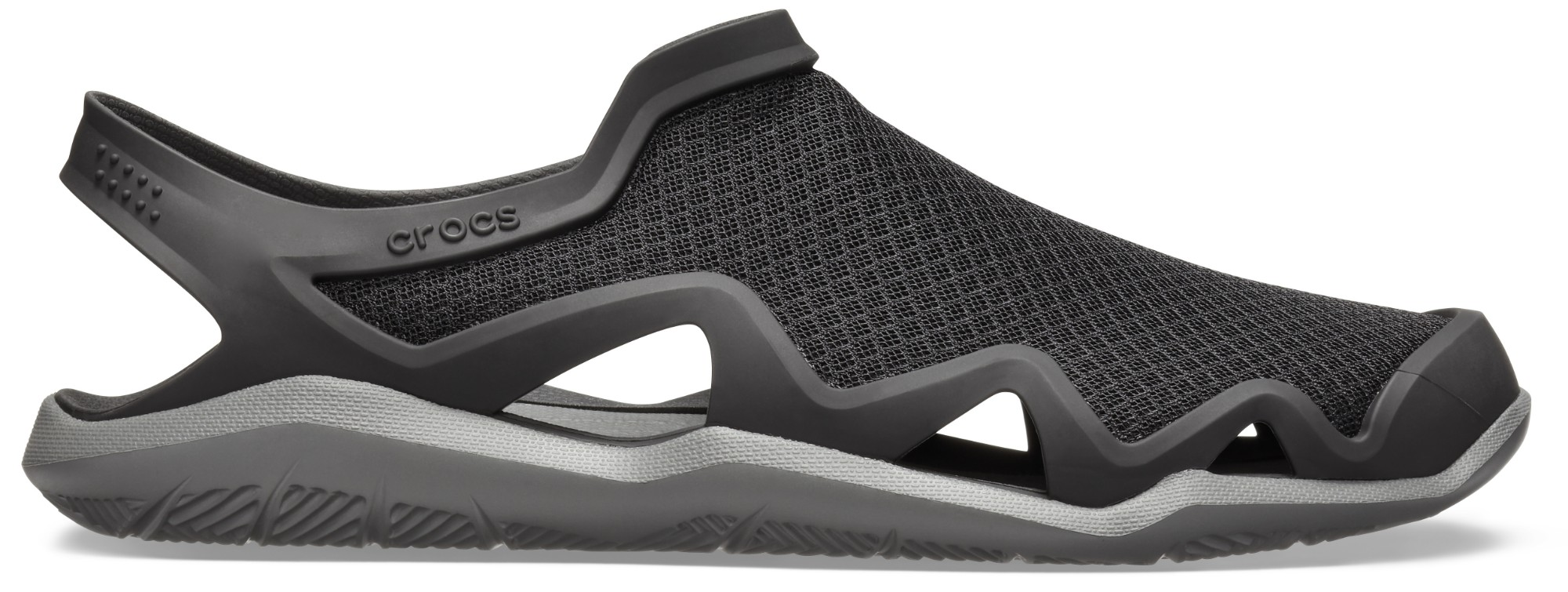 Crocs™ Swiftwater Mesh Wave Men's Black/Slate Grey 47,5