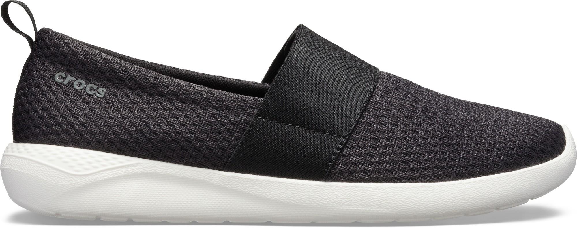Crocs™ LiteRide Mesh Slip-On Women's Black/White 36,5