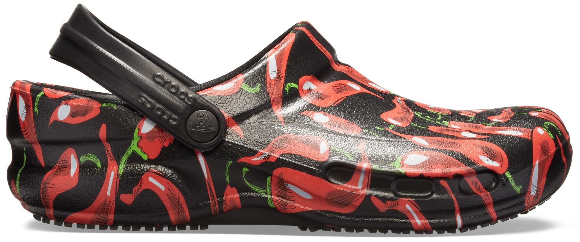 Crocs™ Bistro Peppers Clog Black/Red 45,5