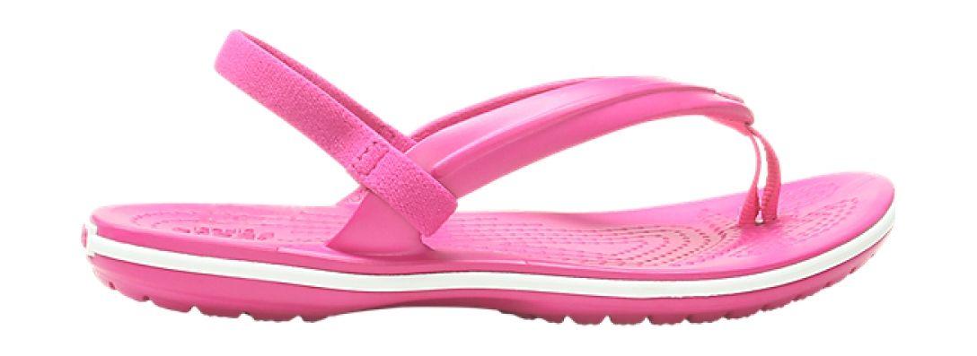 Crocs™ Crocband Strap Flip Kid's Candy Pink 30