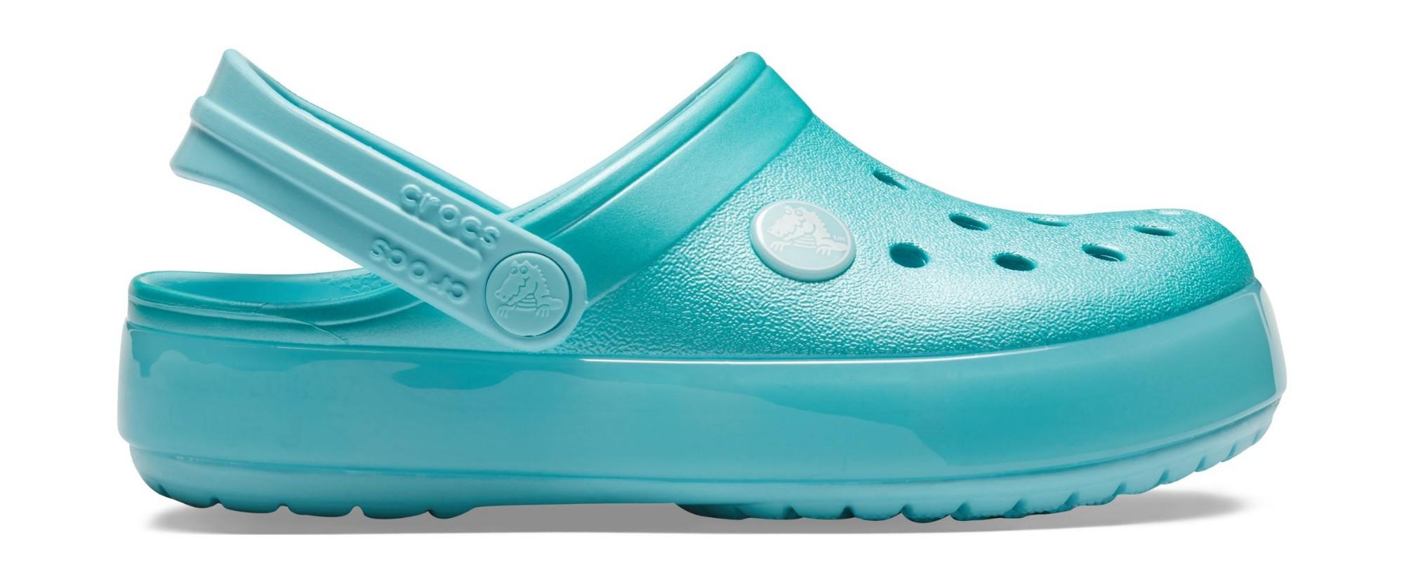Crocs™ Crocband Ice Pop Clog Kid's Ice Blue 25