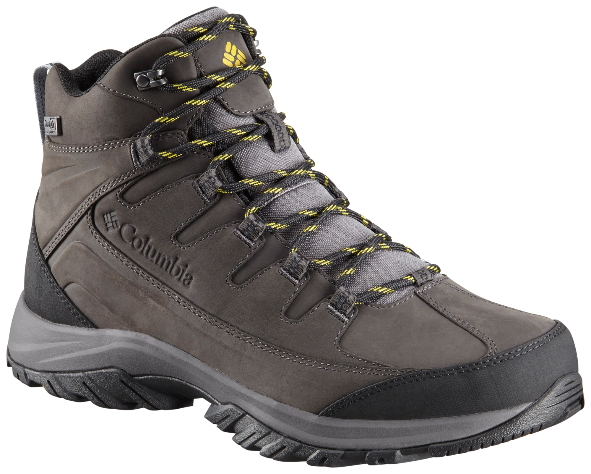 Columbia Terrebonne II Mid Outdry Mud/Curry 45