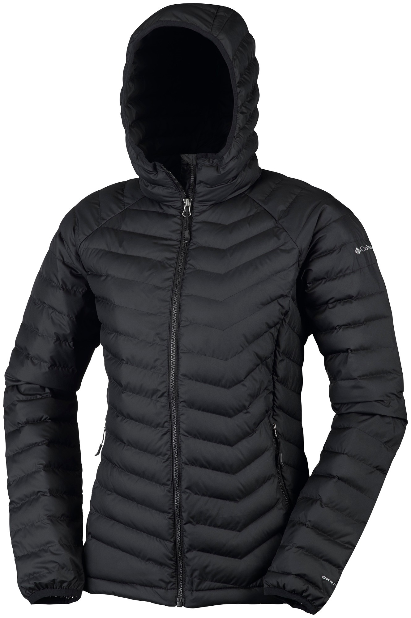 Columbia Powder Lite Hooded Jacket Black M