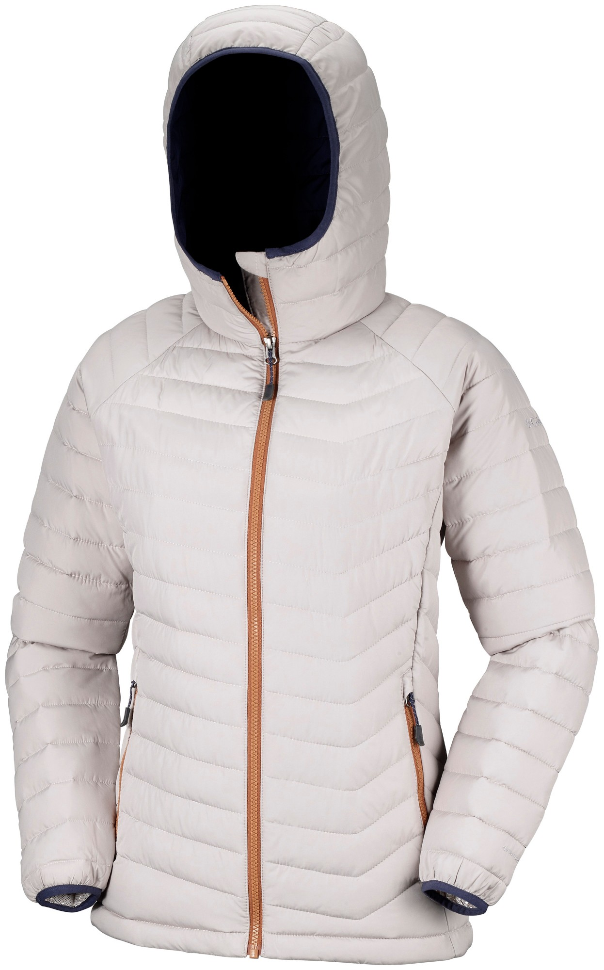 Columbia Powder Lite Hooded Jacket Light Cloud S