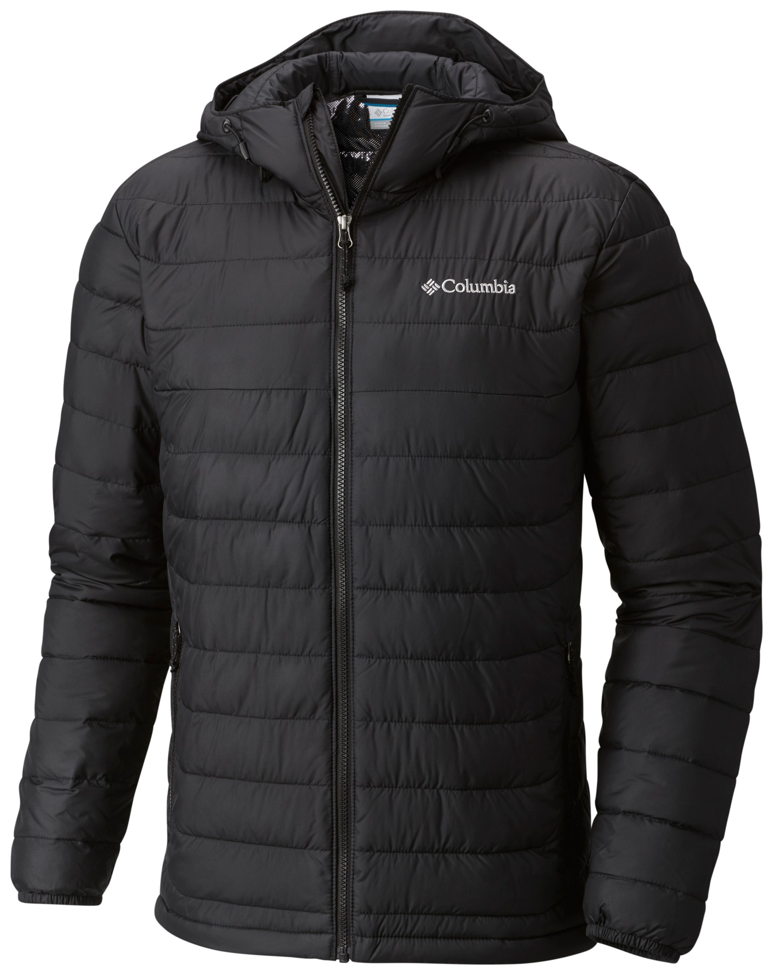 Columbia Powder Lite Hooded Jacket WO1151 Black L