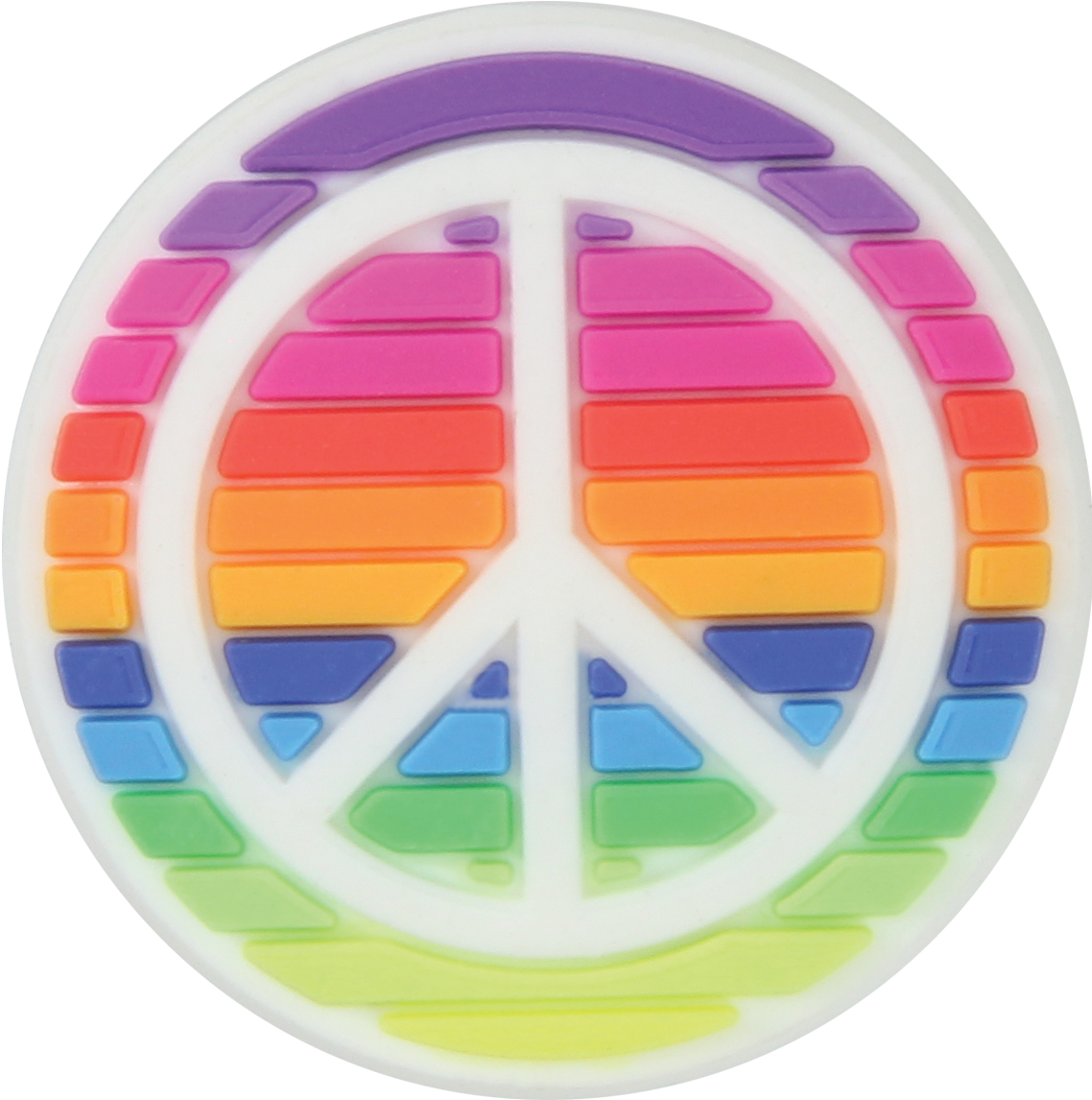 Crocs™ Crocs RAINBOW PEACE SIGN