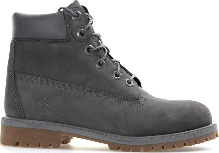 Timberland 6 In Premium Boot Junior's Dark Grey Nubuck 40