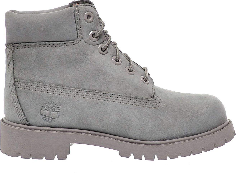 Timberland 6 In Premium Boot Junior's Grey Nubuck 39