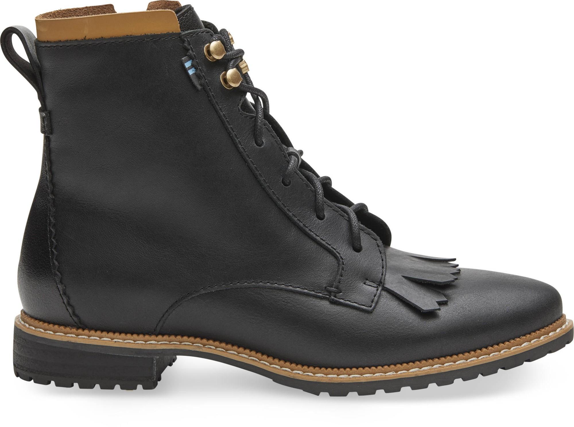 TOMS Leather Women's Nolita Black 40