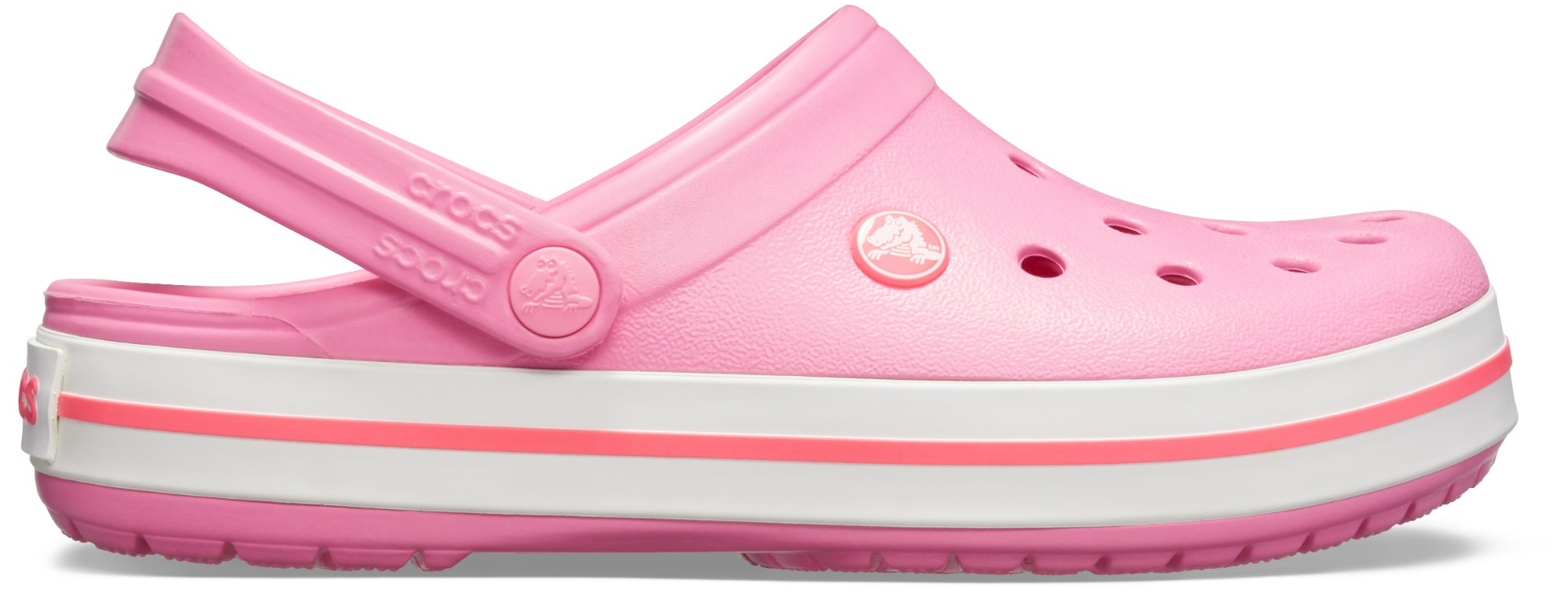 Crocs™ Crocband™ Pink Lemonade/White 36,5