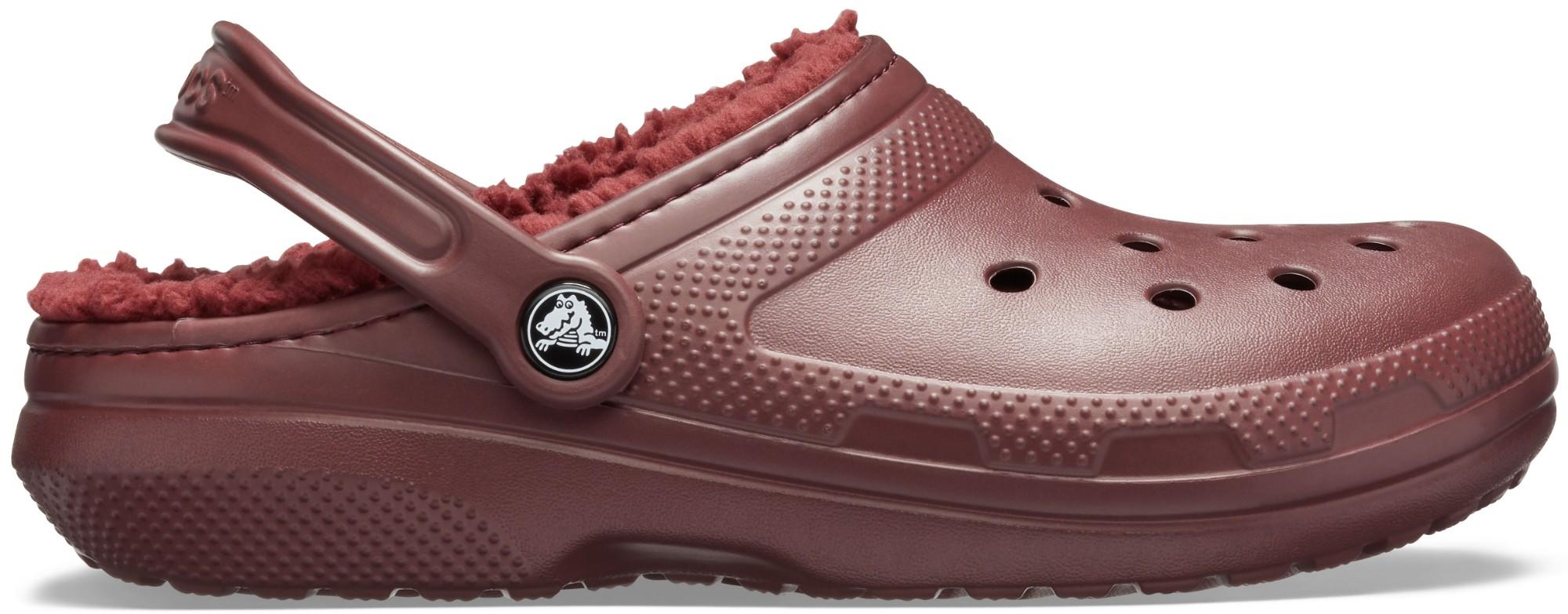 Crocs™ Classic Lined Clog Burgundy/Burgundy 37,5