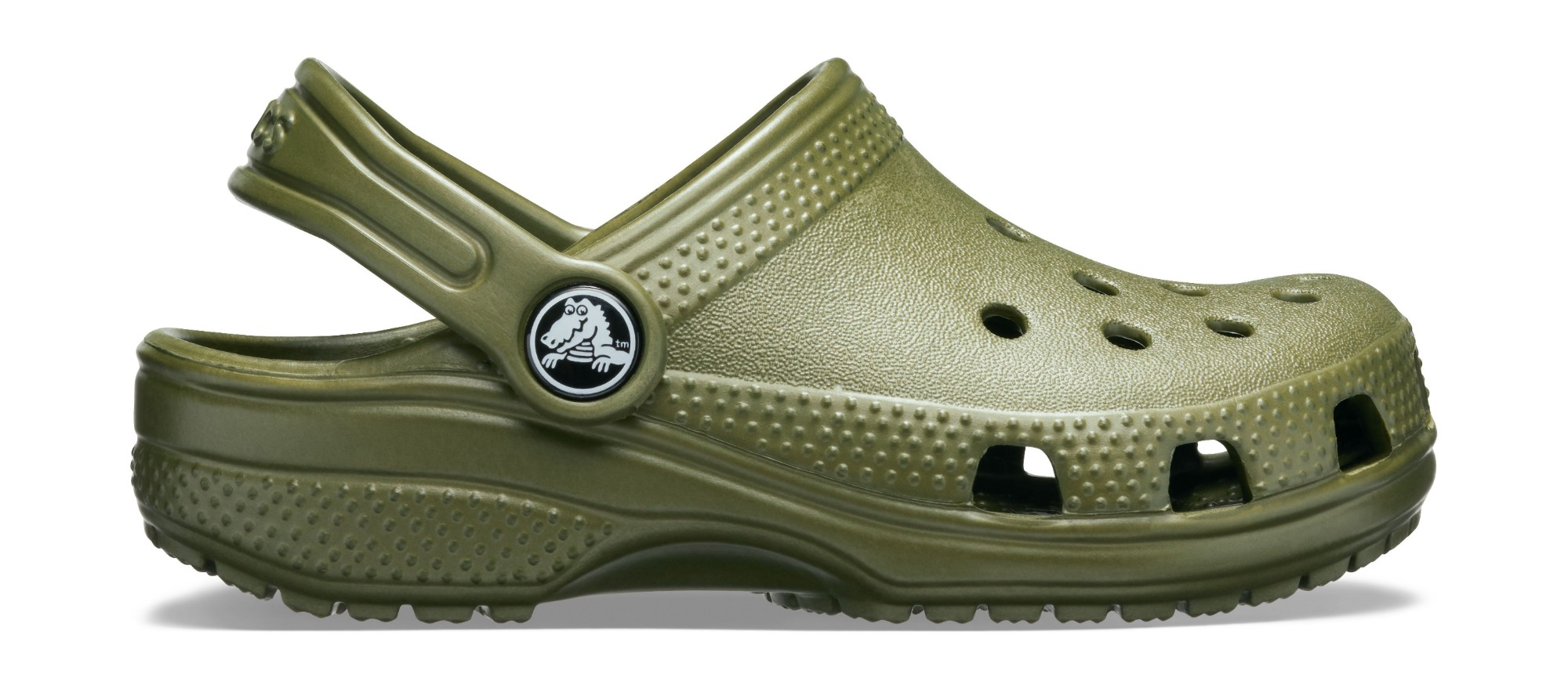Crocs™ Kids' Classic Clog Army Green 33,5