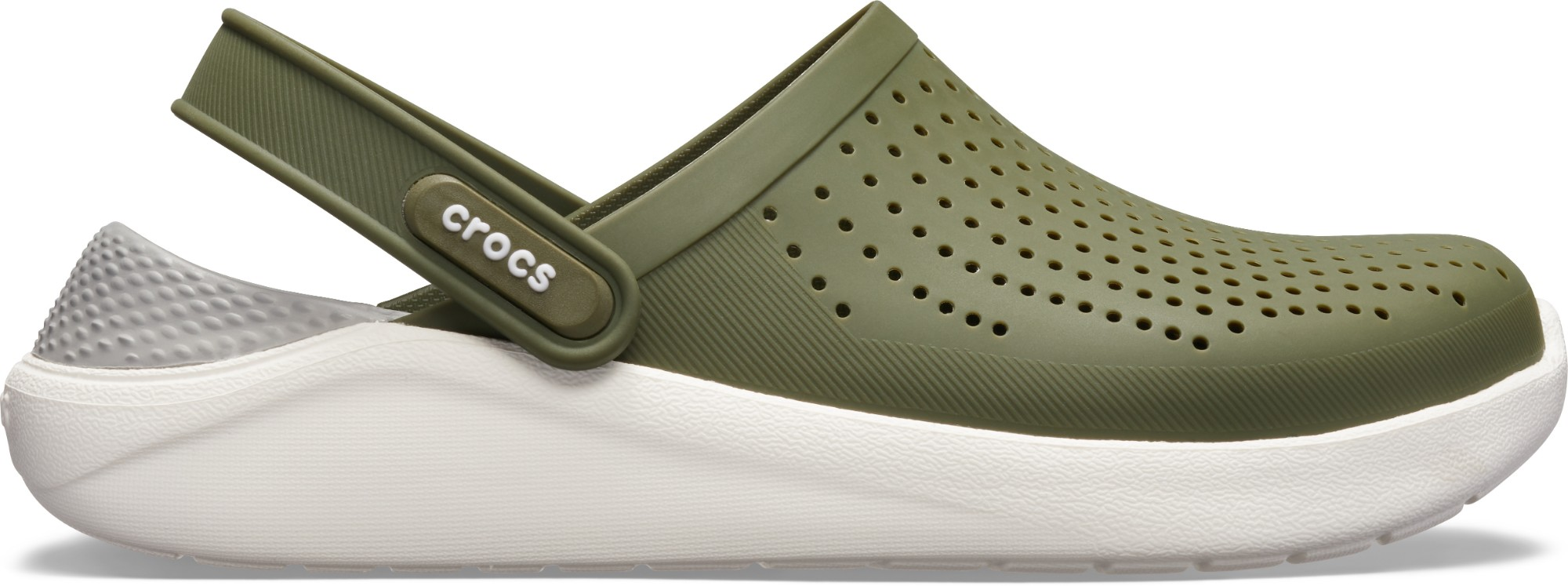 Crocs™ LiteRide Clog Army Green/White 44,5