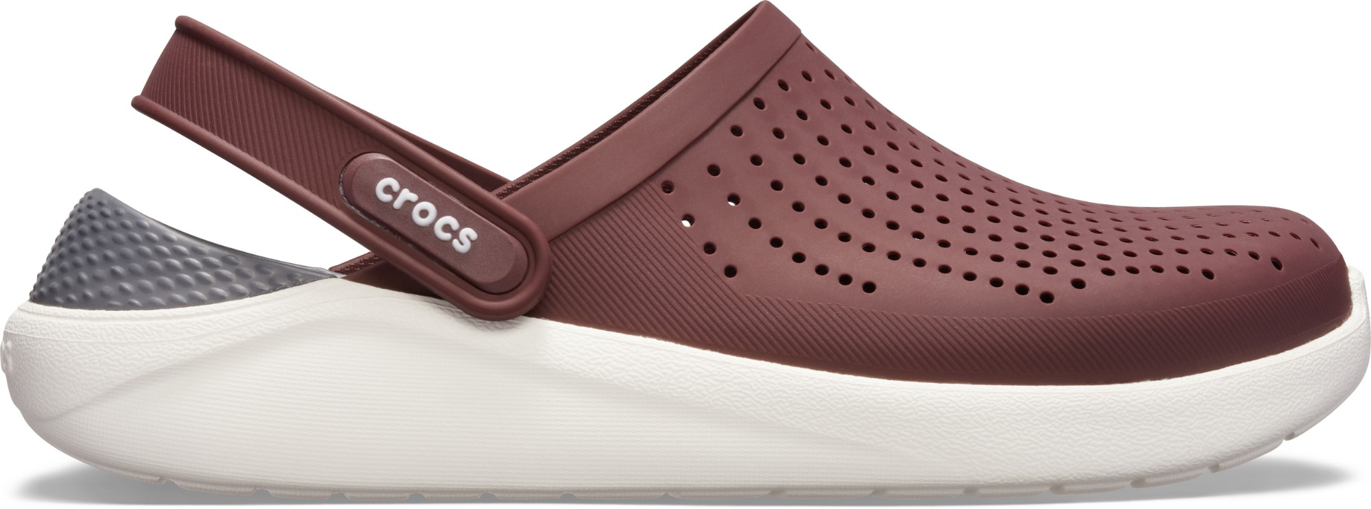 Crocs™ LiteRide Clog Burgundy/White 41