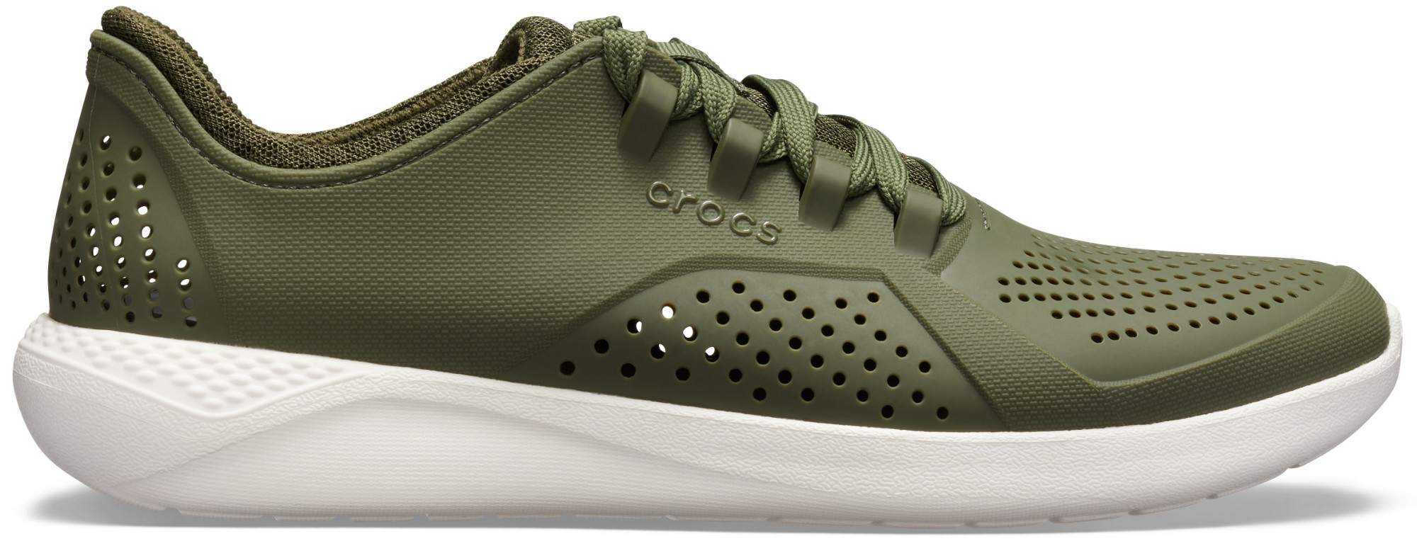 Crocs™ LiteRide Pacer Army Green/White 45,5