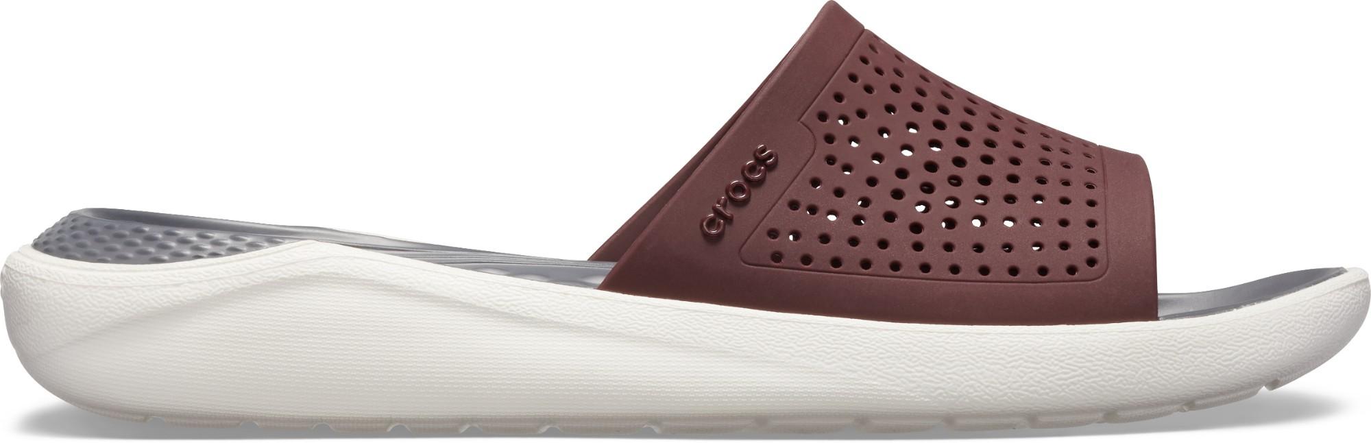 Crocs™ LiteRide Slide Burgundy/White 43,5