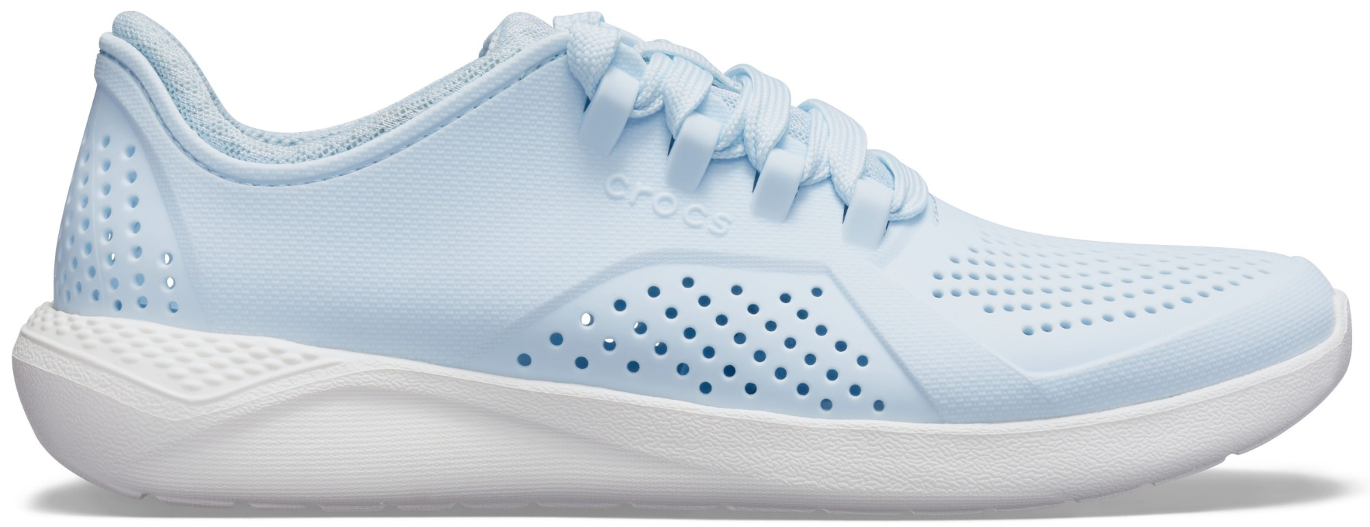 Crocs™ Women's LiteRide Pacer Mineral Blue/White 39,5