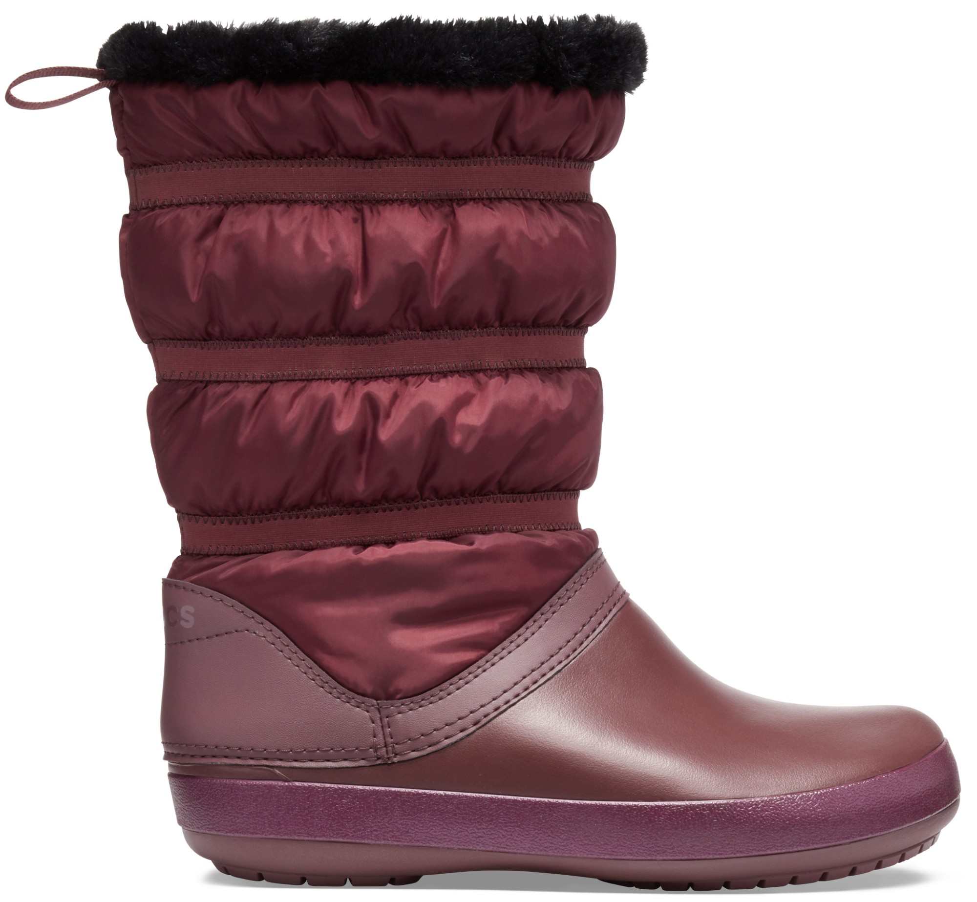 Crocs™ Women's Crocband Winter Boot Burgundy 38,5