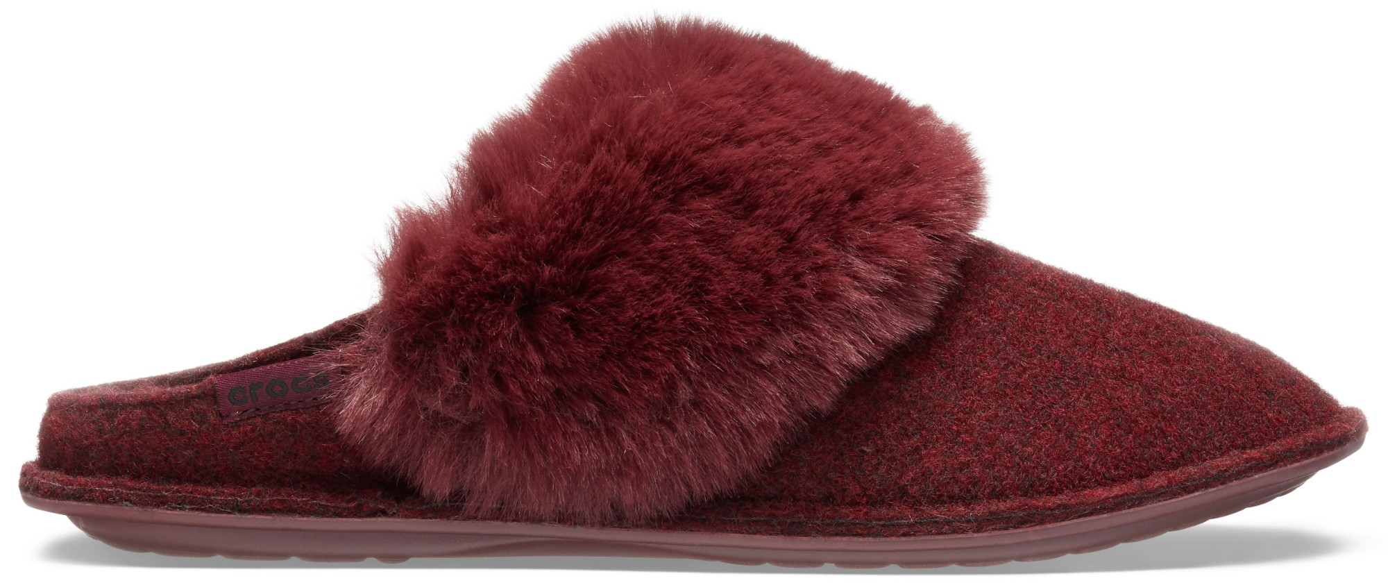 Crocs™ Classic Luxe Slipper Burgundy 39,5