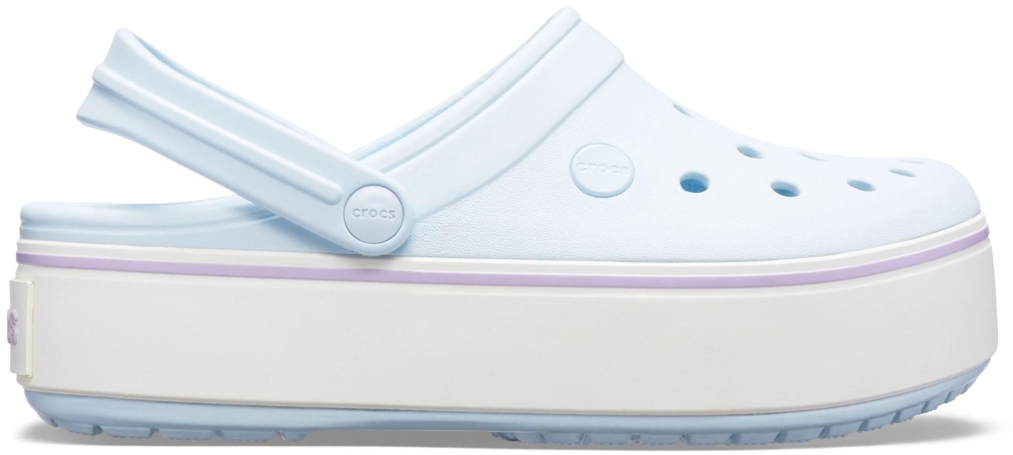 Crocs™ Crocband Platform Clog Mineral Blue/Lavender 36,5