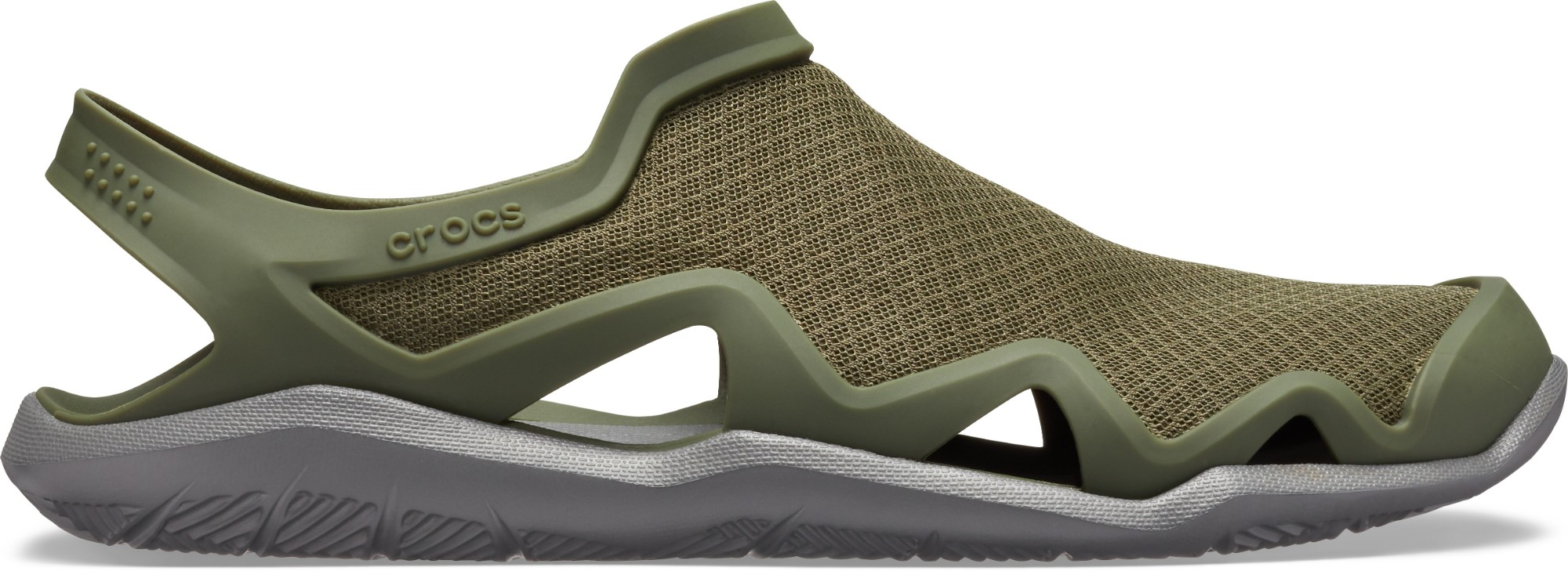 Crocs™ Swiftwater Mesh Wave Men's Army Green/Slate Grey 43,5