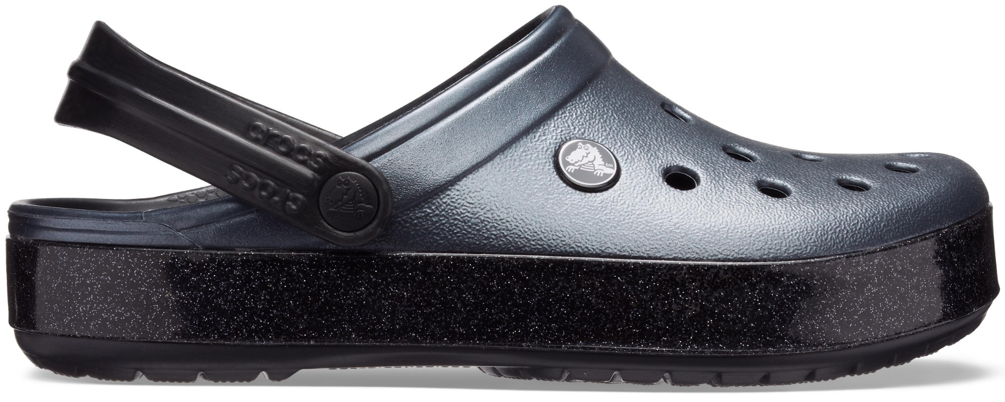 Crocs™ Crocband Printed Clog Metallic Black 38,5