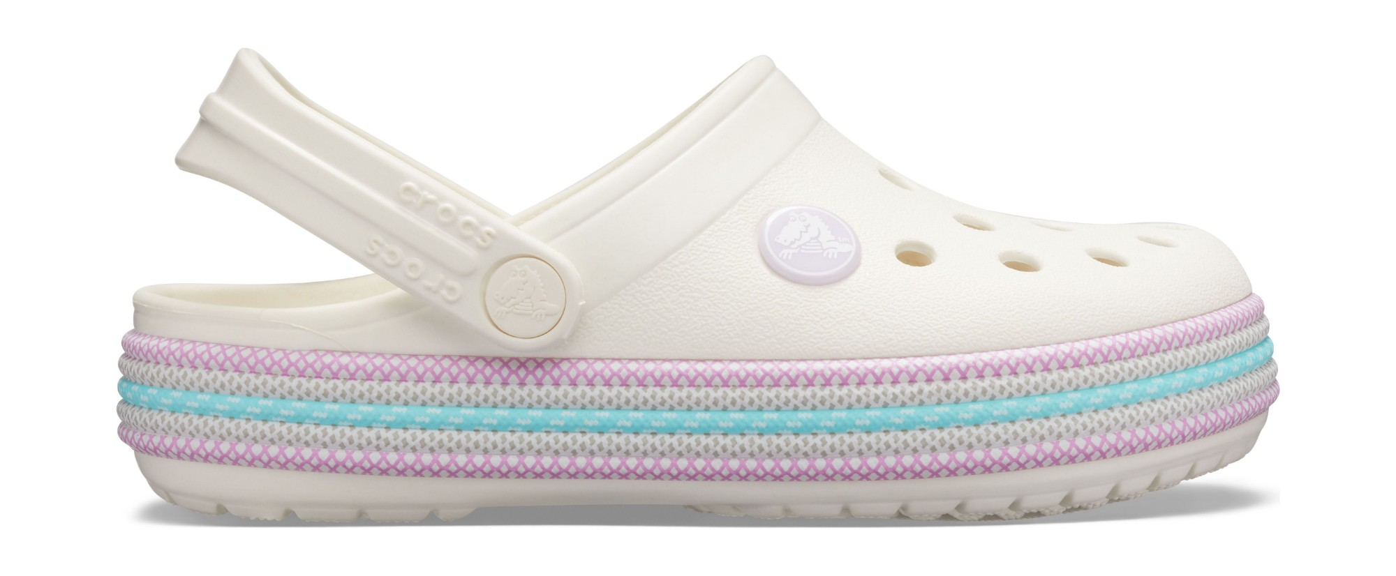 Crocs™ Crocband Sport Cord Clog Kid's Oyster 32