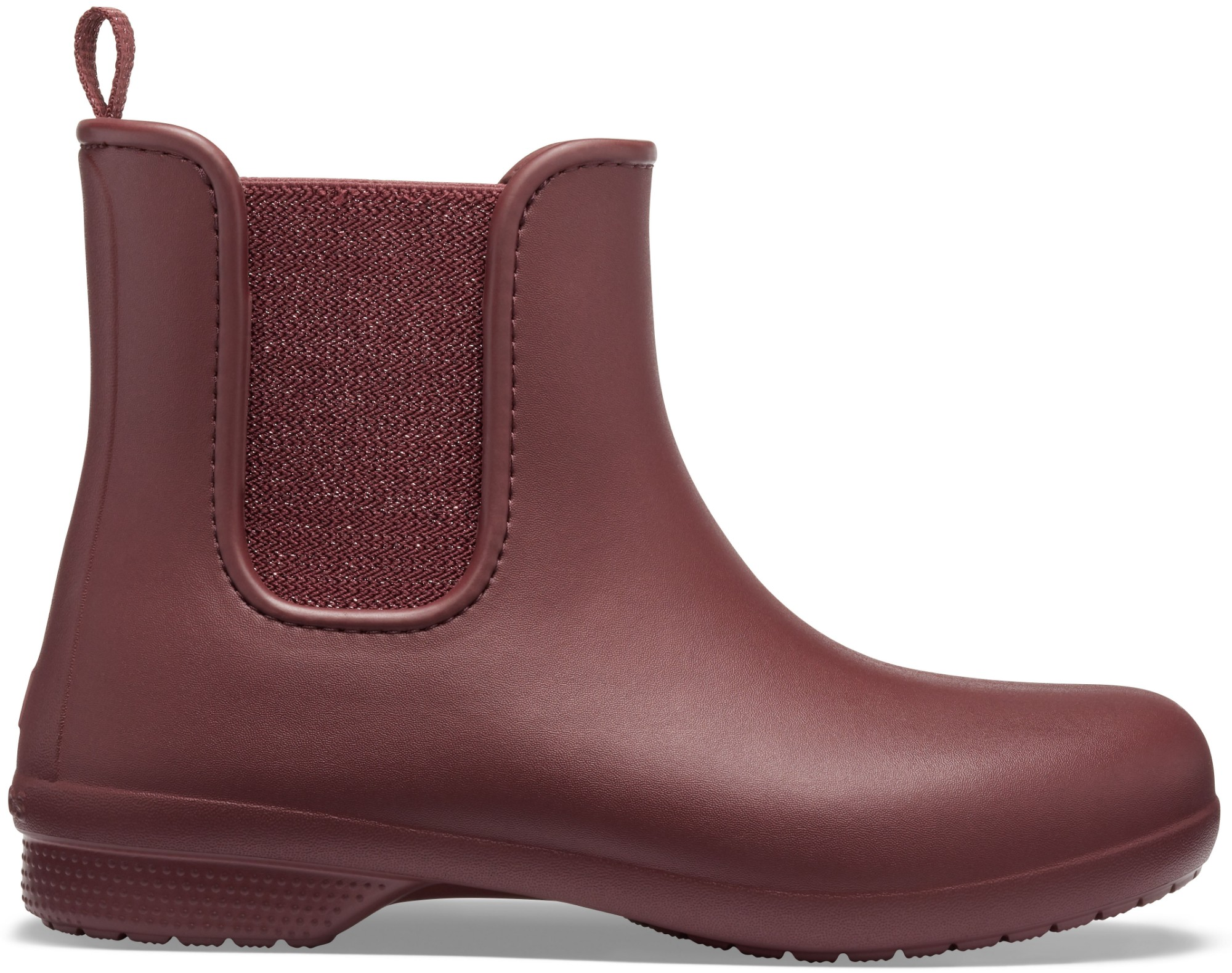 Crocs™ Freesail Mt Chelsea Boot Women's Metallic Burgundy 41
