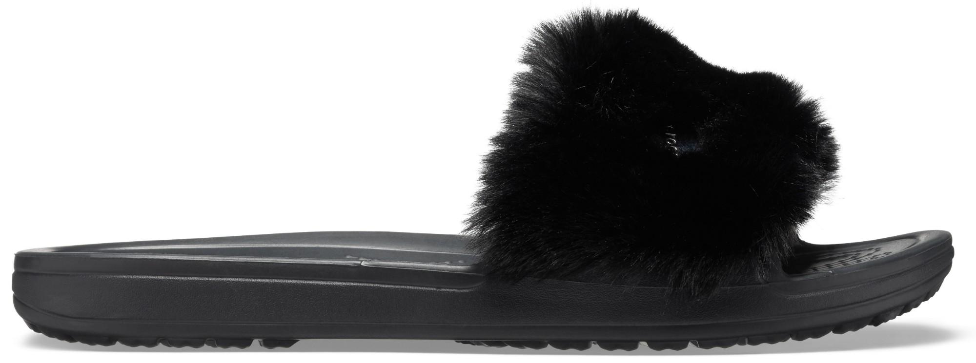 Crocs™ Crocs Sloane Luxe Slide Women's Black/Black 36,5