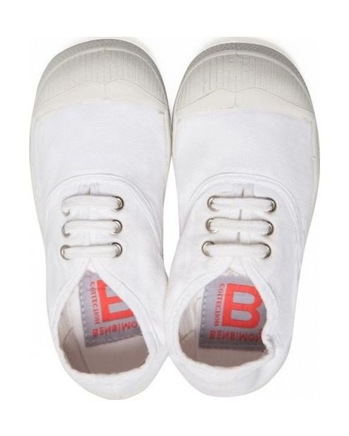 BENSIMON Tennis Lacet Enfant White 31