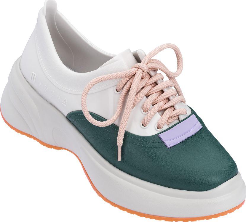 Melissa Ugly Sneaker Beige/White/Green 39