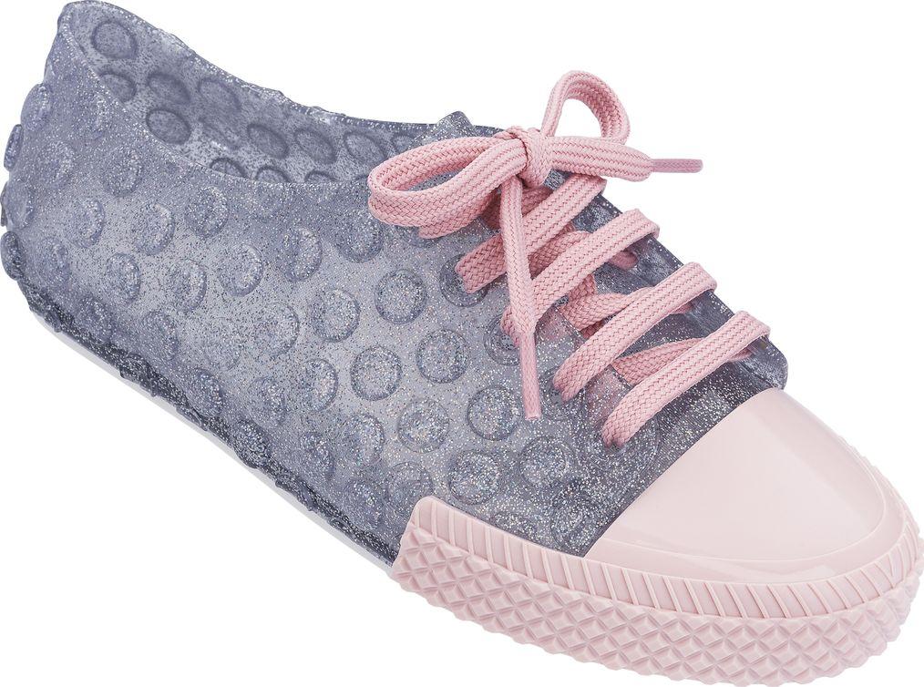 Melissa Polibolha Sneaker Clear Glitter/Pink 40
