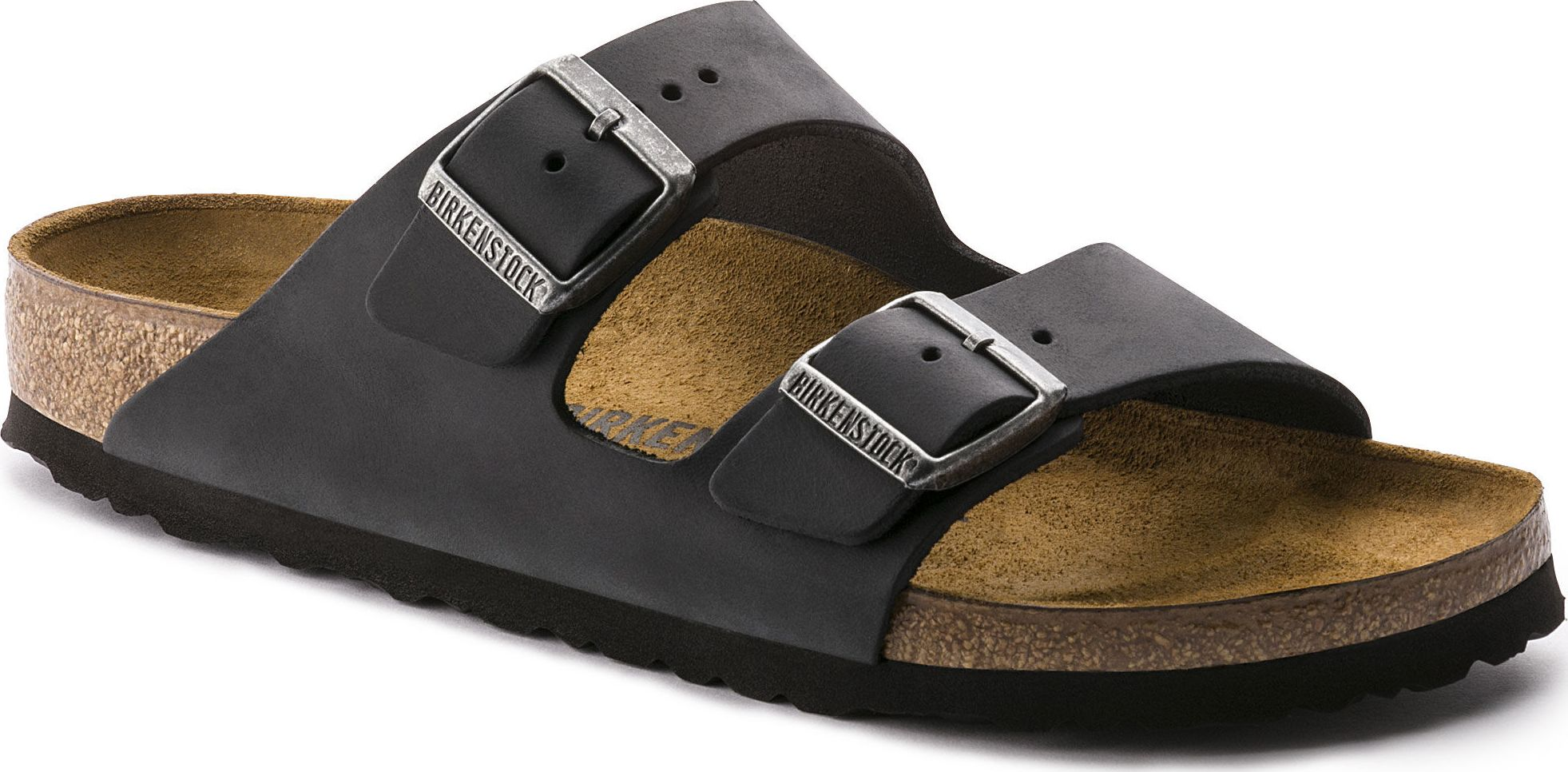 Birkenstock Arizona Oiled Leather Black 44