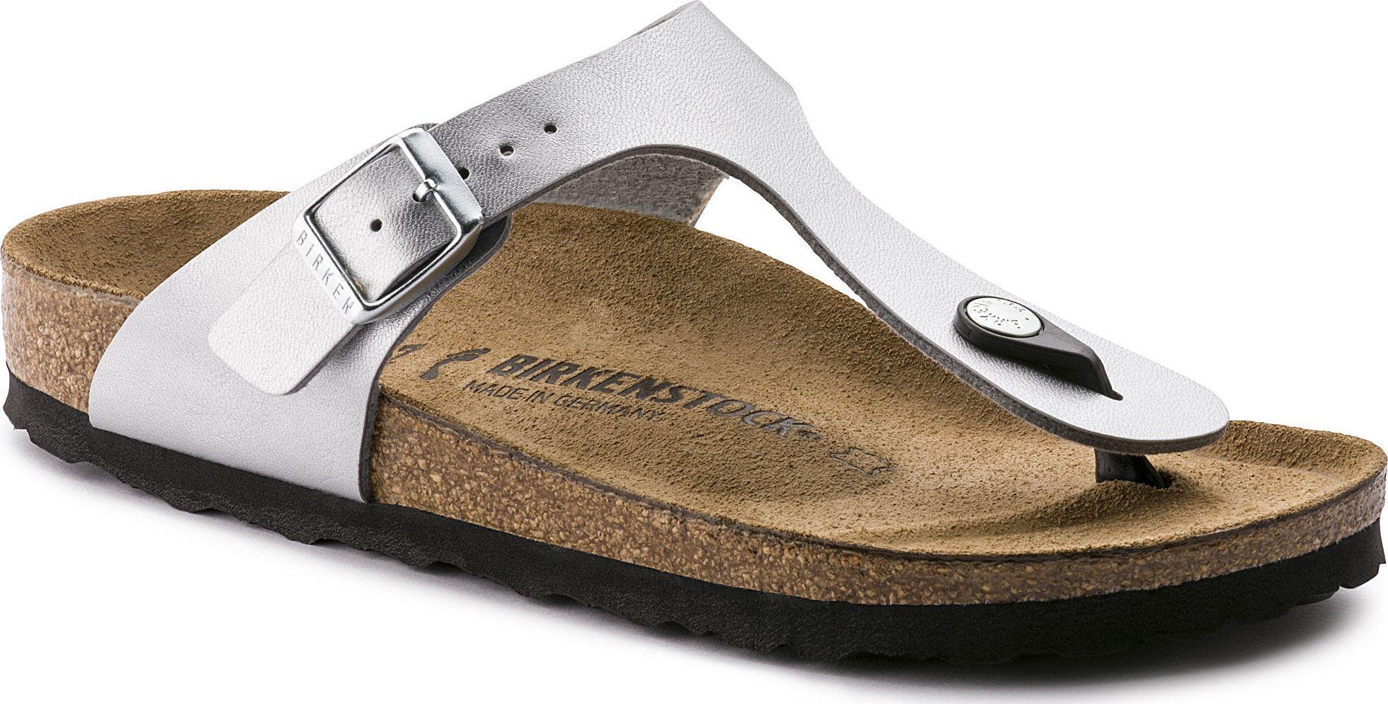 Birkenstock Gizeh Silver 40