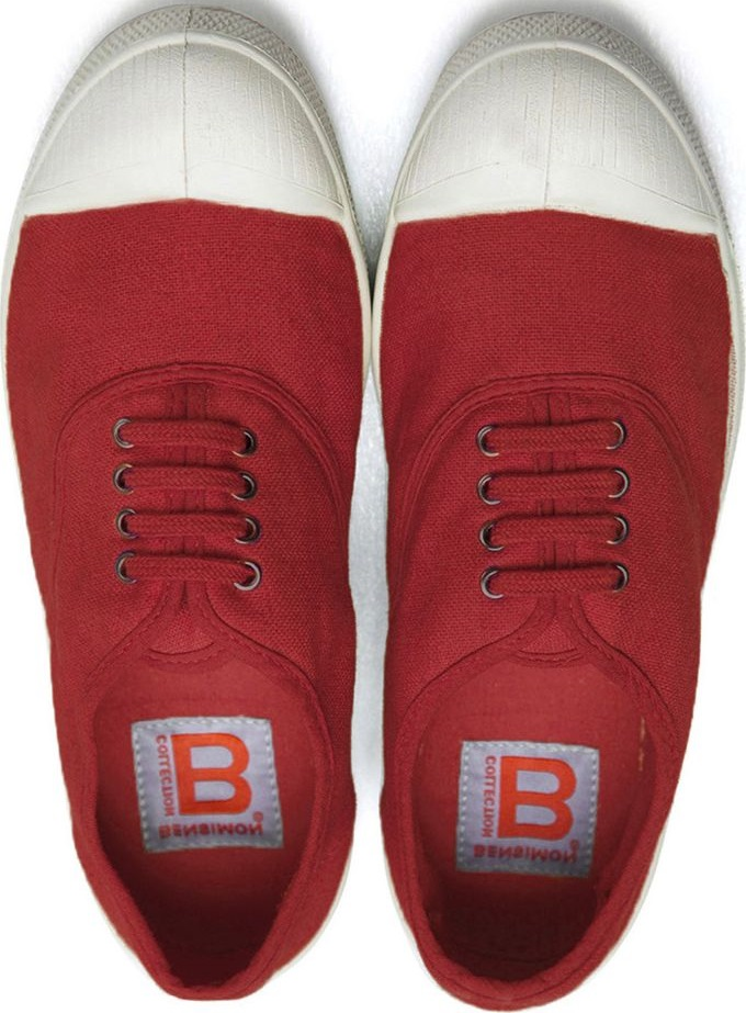 BENSIMON Tennis Lacets Terracotta 37