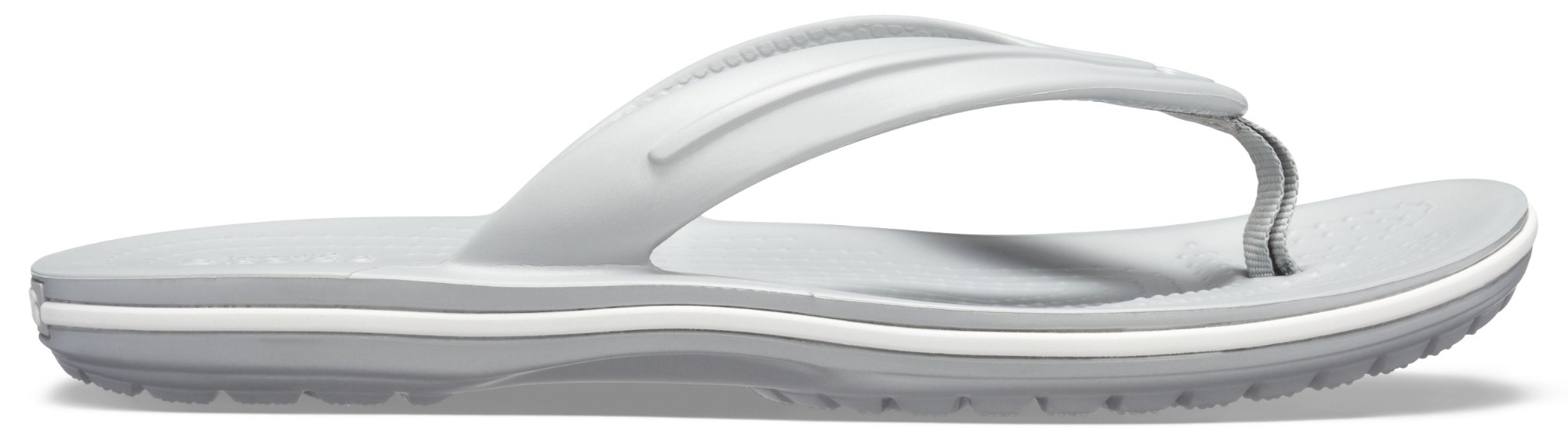 Crocs™ Crocband Flip GS Light Grey 36,5