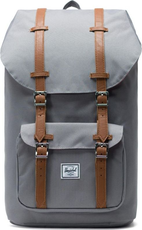 HERSCHEL Little America Grey/Tan One Size