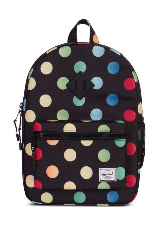 Herschel Heritage Youth Black Rainbow One Size