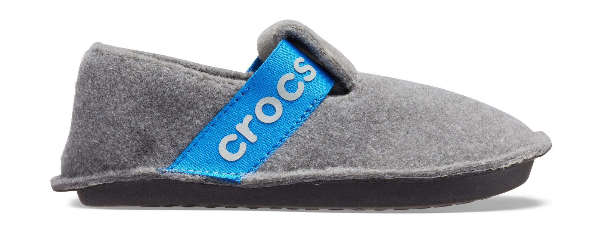 Crocs™ Kids' Classic Slipper Charcoal 26