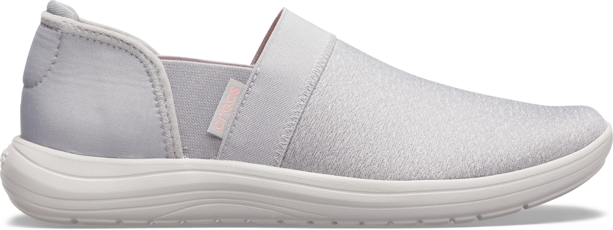 Crocs™ Reviva Slip-On Women's Light Grey/Pearl White 35