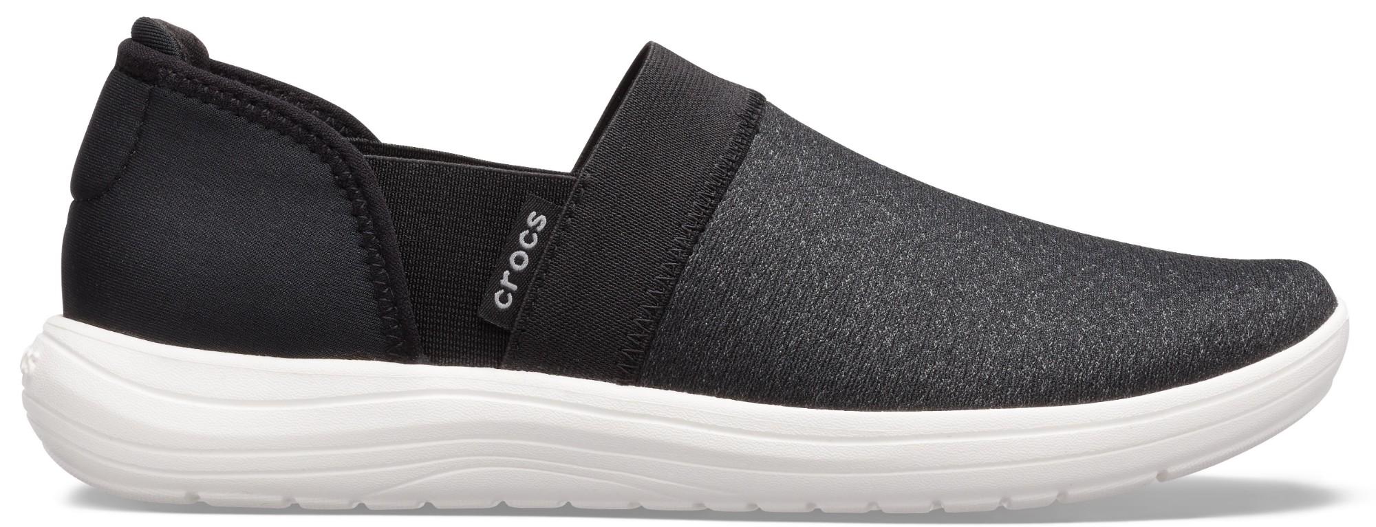Crocs™ Reviva Slip-On Women's Black/White 38,5