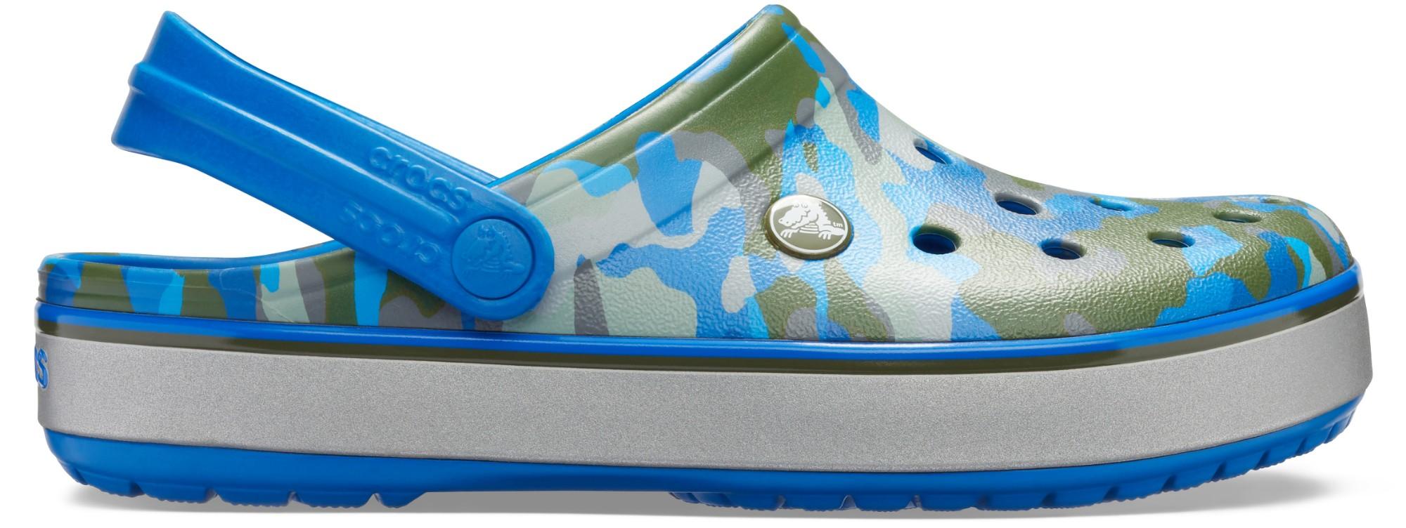 Crocs™ Crocband Printed Clog Bright Cobalt/Army Green 41