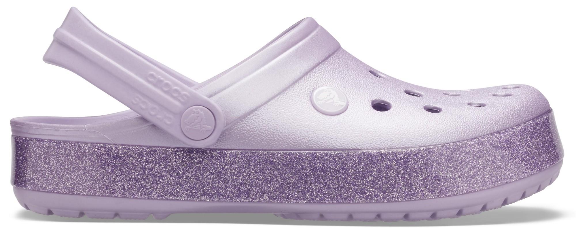 Crocs™ Crocband Printed Clog Metallic Lavender 38,5