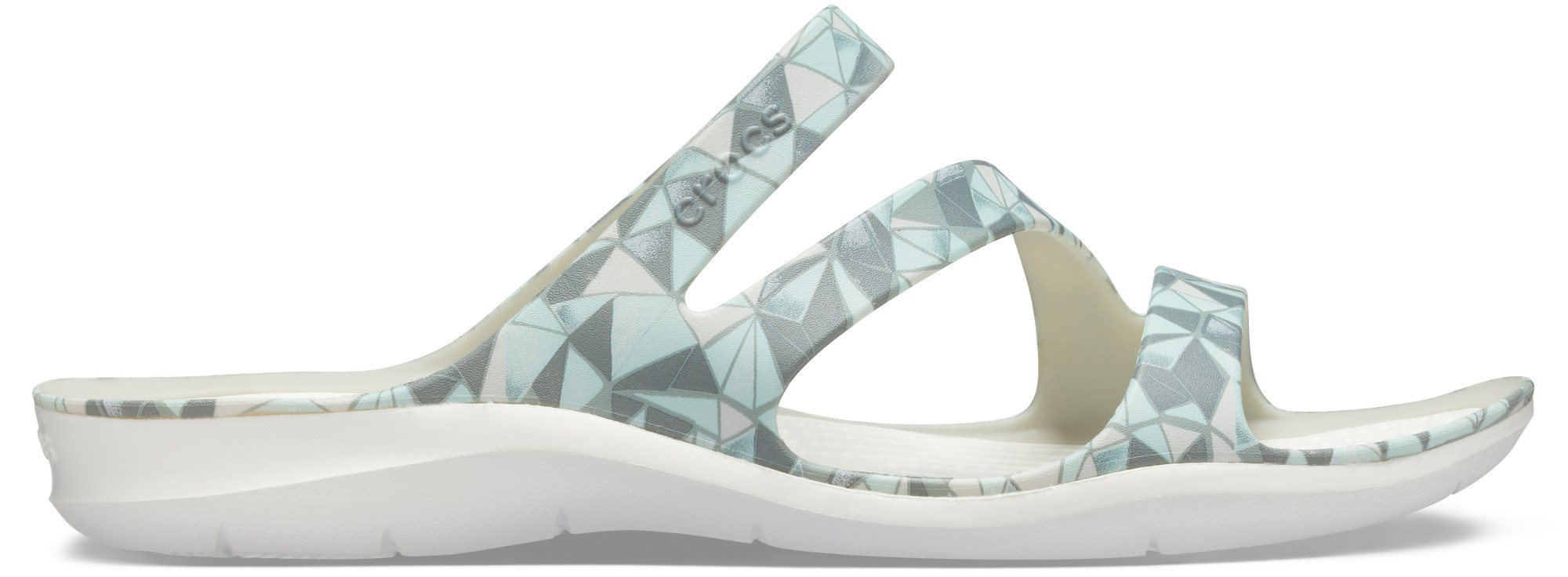 Crocs™ Swiftwater Printed Sandal Women's Geo/White 42,5