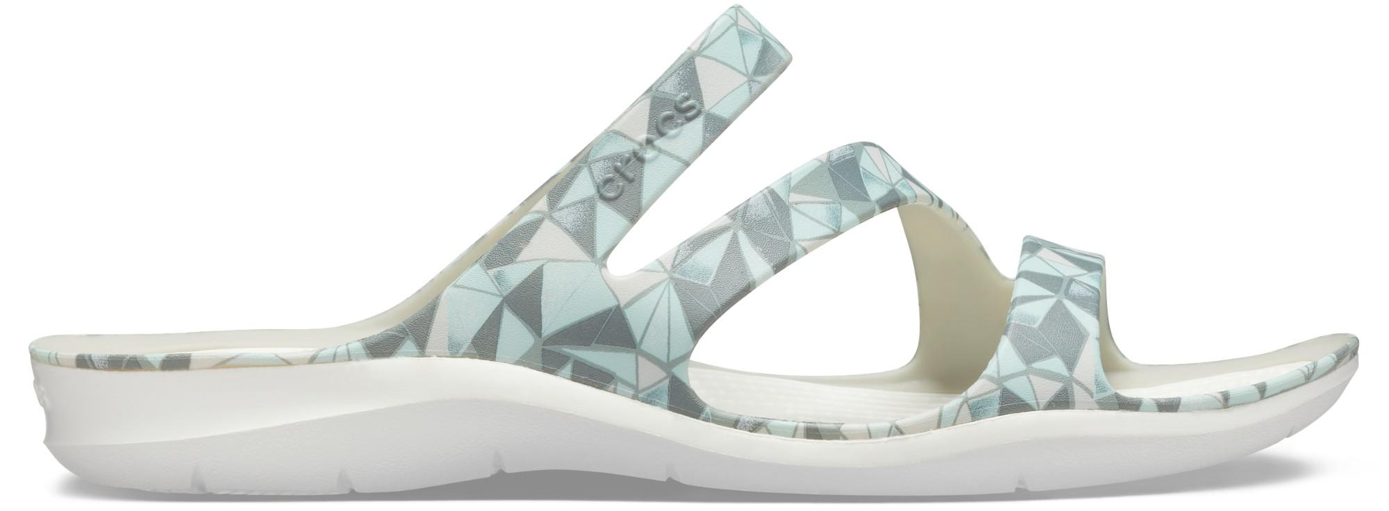 Crocs™ Swiftwater Printed Sandal Women's Geo/White 36,5