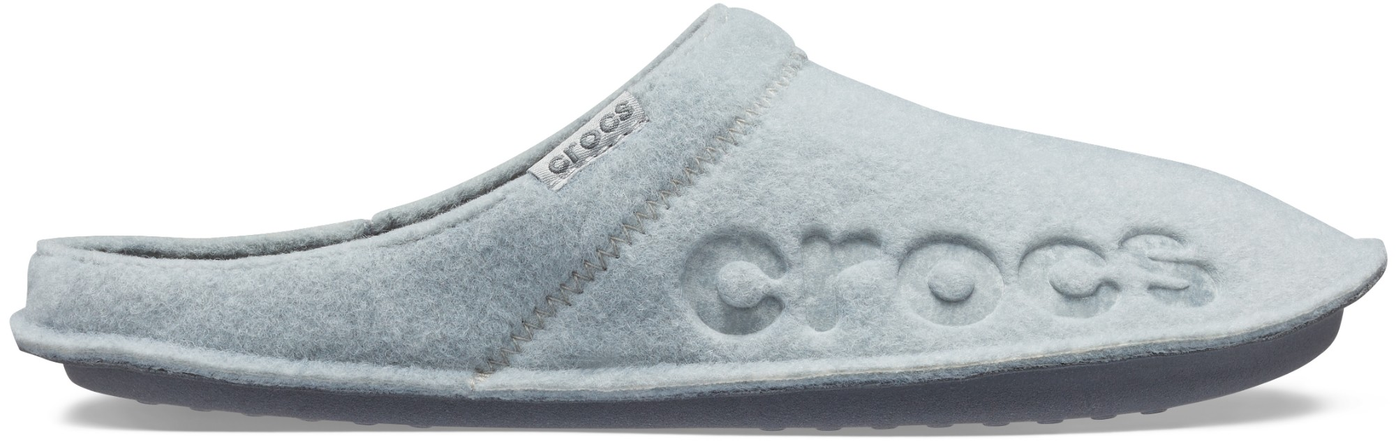 Crocs™ Baya Slipper Light Grey/Charcoal 41