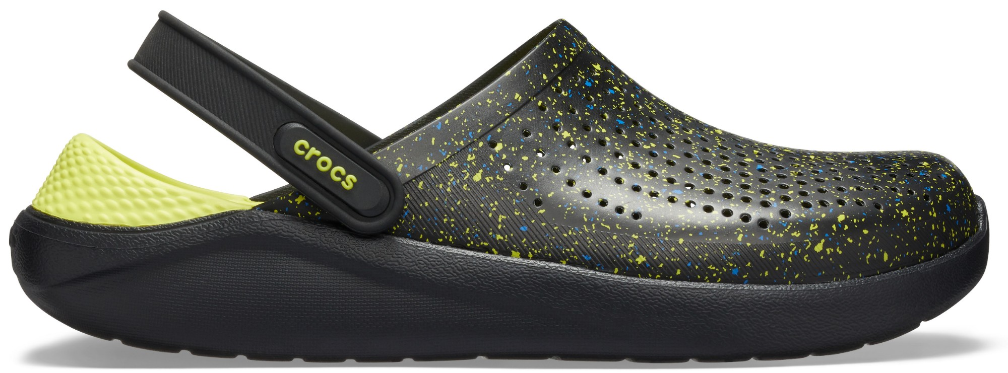 Crocs™ LiteRide Hyper Bold Clog Black/Black 47,5