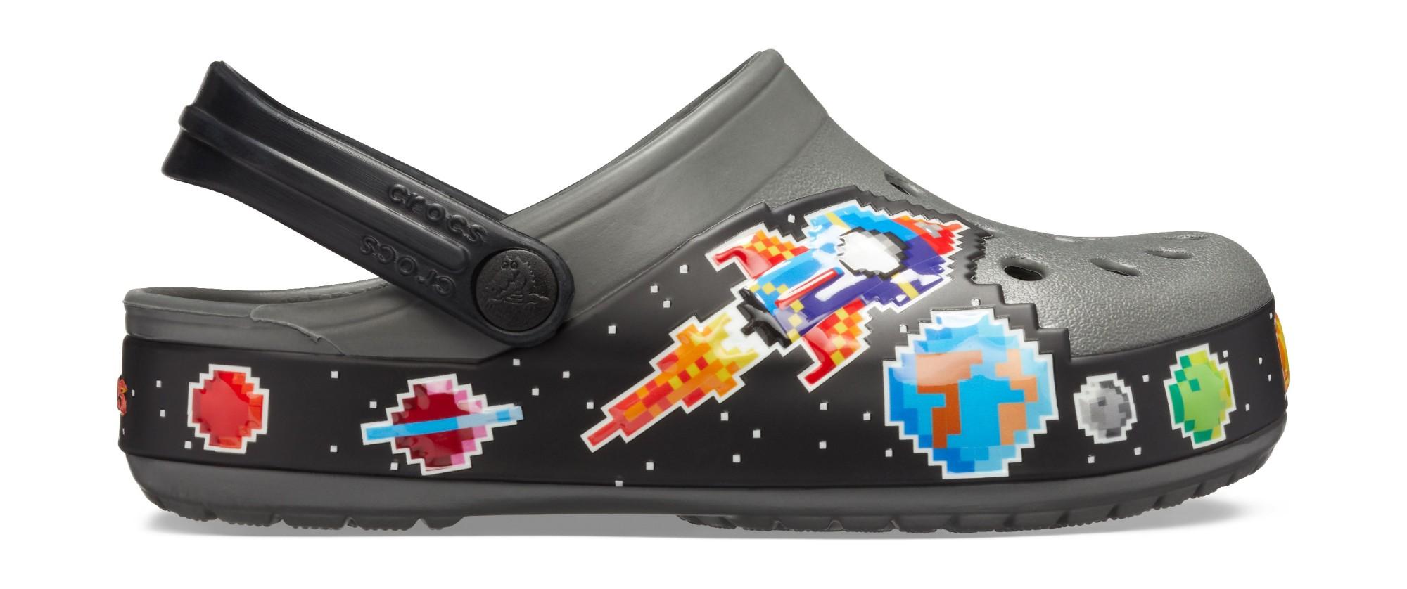 Crocs™ FunLab Galactic Clog Boy's Slate Grey 21